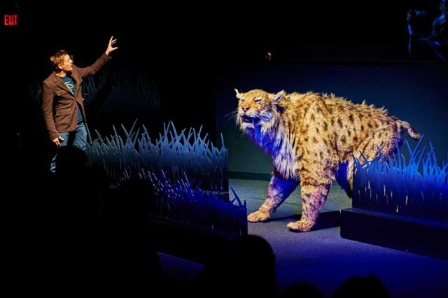 Ice Age Encounters Live Theater Show at La Brea Tar Pits