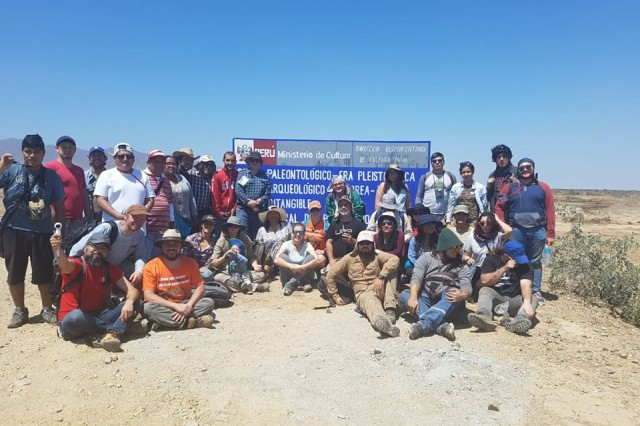 An international team of paleontologists assembled at the University of Piura in Northern Peru