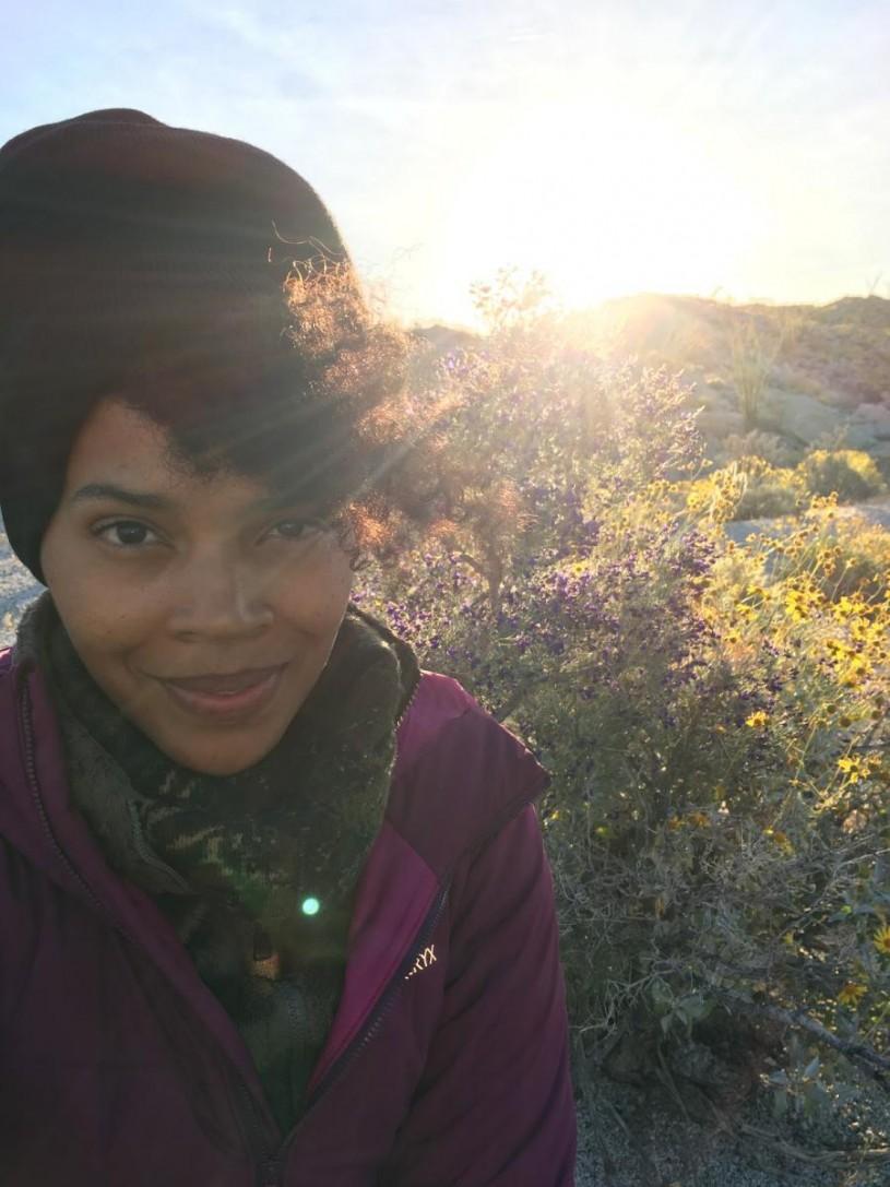 A nature escape + selfie skills. Photo by Iris Hill