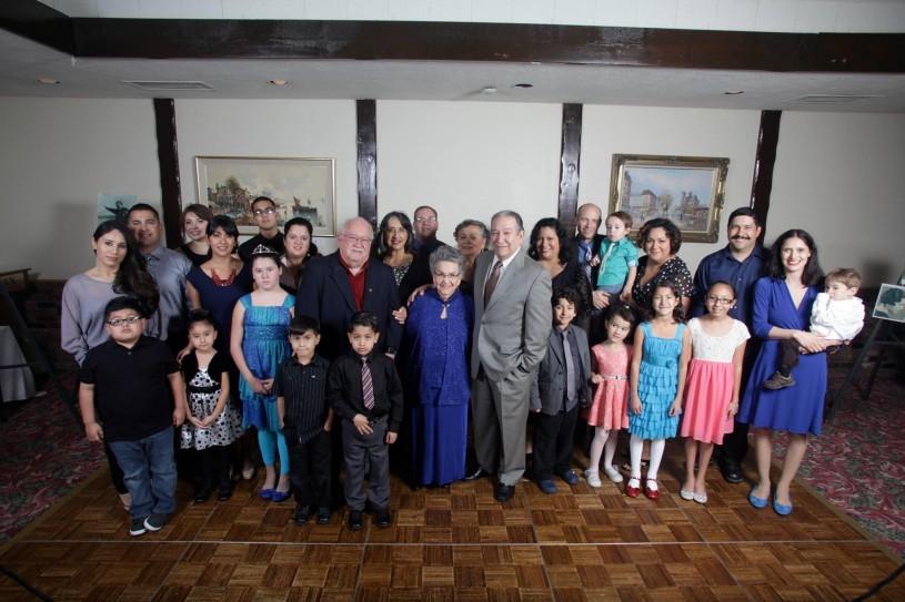 Alicia Sosa and family