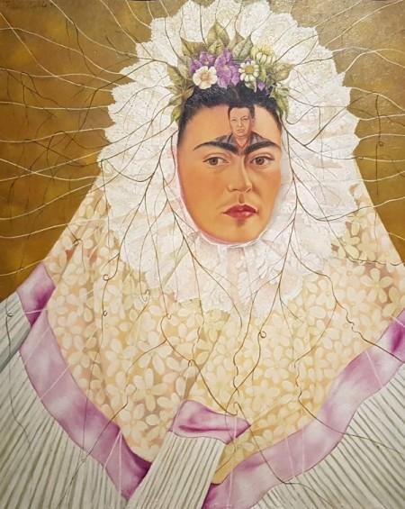 Image of Frida Kahlo Painting